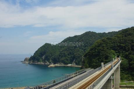 餘部鉄橋の風景の写真素材 [FYI02989021]