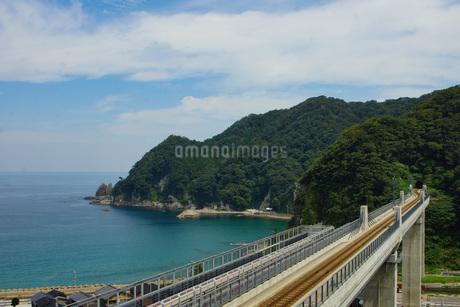餘部鉄橋の風景の写真素材 [FYI02989023]