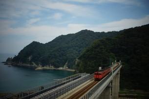 餘部鉄橋の風景の写真素材 [FYI02989032]