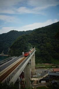 餘部鉄橋の風景の写真素材 [FYI02989033]
