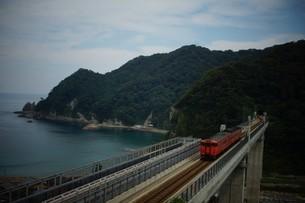 餘部鉄橋の風景の写真素材 [FYI02989043]