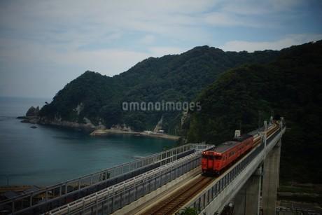 餘部鉄橋の風景の写真素材 [FYI02989044]