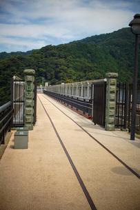旧余部鉄橋の風景の写真素材 [FYI02989052]