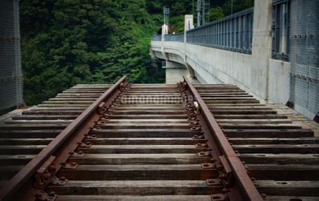 旧余部鉄橋の風景の写真素材 [FYI02989053]