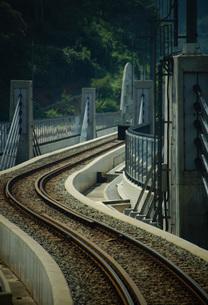 餘部鉄橋の風景の写真素材 [FYI02989056]