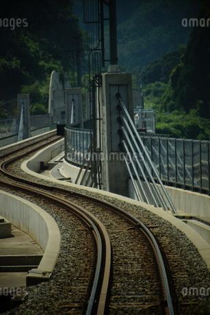 餘部鉄橋の風景の写真素材 [FYI02989058]