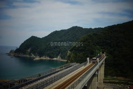 餘部鉄橋の風景の写真素材 [FYI02989064]