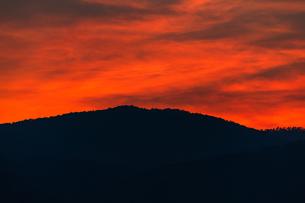 夕焼けの写真素材 [FYI02989182]