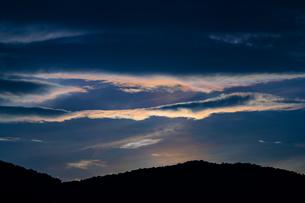 彩雲の写真素材 [FYI02989304]