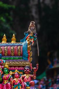 マレーシア バトゥ洞窟の写真素材 [FYI02989308]