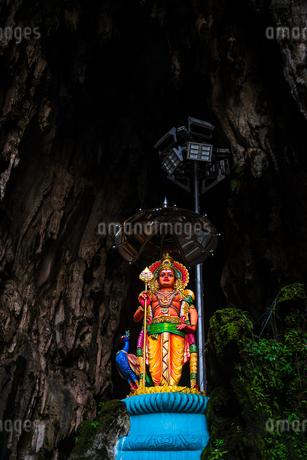 マレーシア バトゥ洞窟の写真素材 [FYI02989323]