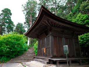 長命寺の如法行堂の写真素材 [FYI02989399]
