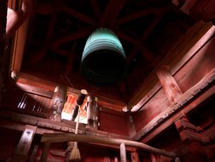 長命寺の鐘楼の写真素材 [FYI02989400]