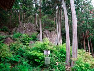長命寺のすたら岩の写真素材 [FYI02989401]