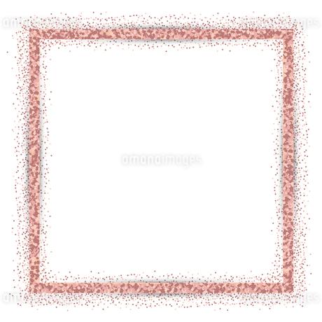 ピンク ラメ フレームの写真素材 [FYI02989405]