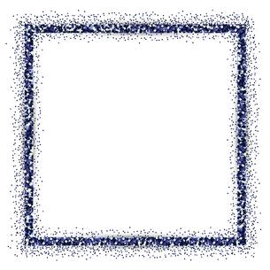 青 ラメ フレームの写真素材 [FYI02989408]