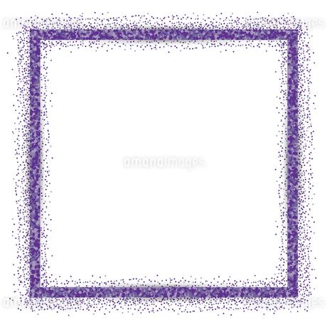 紫 ラメ フレームの写真素材 [FYI02989411]