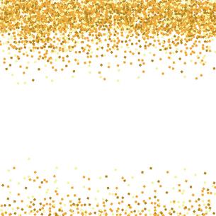 ゴールド ラメ 背景のイラスト素材 [FYI02989570]