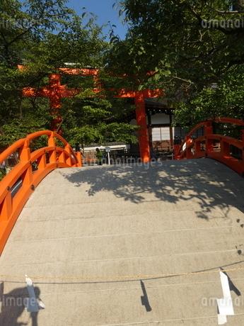 下鴨神社赤橋2の写真素材 [FYI02989605]