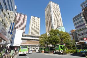 日暮里駅東口の風景の写真素材 [FYI02989686]