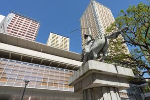 日暮里駅東口の風景の写真素材 [FYI02989691]