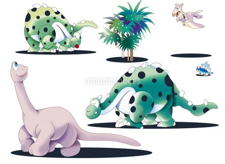 恐竜イラスト集のイラスト素材 [FYI02989941]
