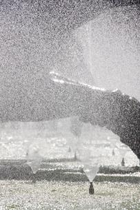 サンパウロの噴水としぶきの写真素材 [FYI02989989]