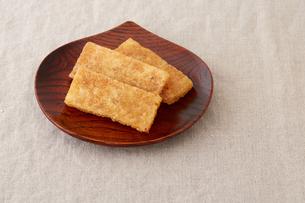 凍み餅の写真素材 [FYI02990302]