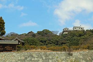 堀之内からの松山城の写真素材 [FYI02990703]