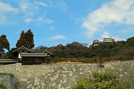堀之内からの松山城の写真素材 [FYI02990704]