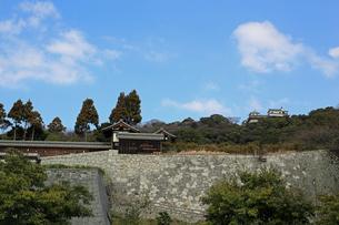堀之内からの松山城の写真素材 [FYI02990705]
