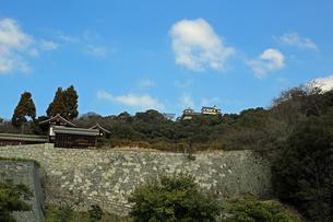 堀之内からの松山城の写真素材 [FYI02990707]