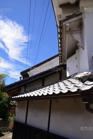 岩村町白壁の写真素材 [FYI02990733]