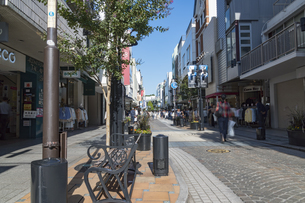 横浜の元町商店街の写真素材 [FYI02990830]
