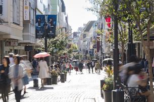 横浜の元町商店街の写真素材 [FYI02990834]