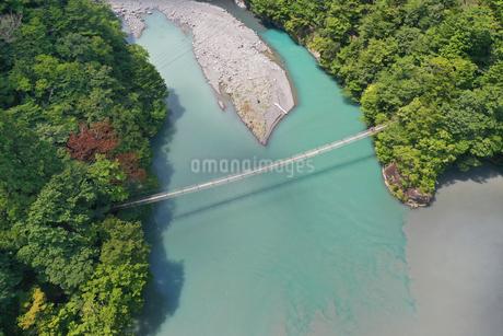 夢の吊り橋の写真素材 [FYI02990846]