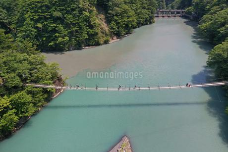 夢の吊り橋の写真素材 [FYI02990850]