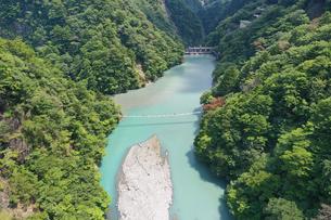 夢の吊り橋の写真素材 [FYI02990854]