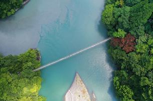 夢の吊り橋の写真素材 [FYI02990858]