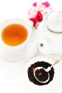 飲食のバラ茶の写真素材 [FYI02991255]