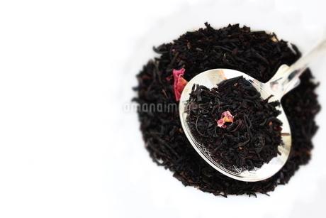ローズ紅茶リーフの写真素材 [FYI02991263]
