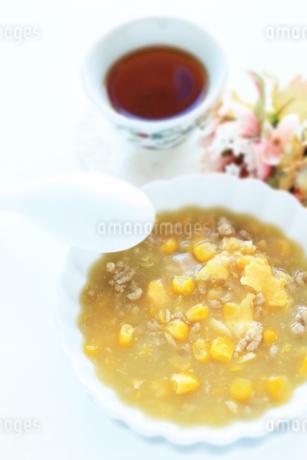 中華コーンスープの写真素材 [FYI02991299]