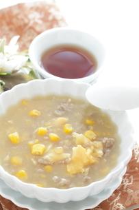 中華コーンスープの写真素材 [FYI02991303]
