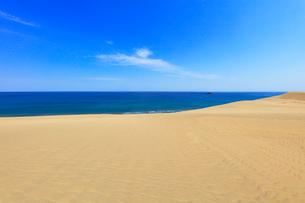 鳥取砂丘と日本海の写真素材 [FYI02991314]