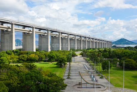瀬戸大橋記念公園の写真素材 [FYI02991531]