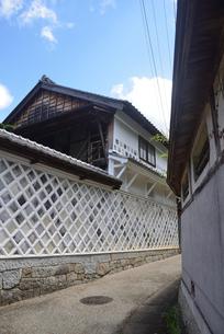 なまこ壁 岩村町の写真素材 [FYI02991568]