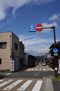 岩村町 町並の写真素材 [FYI02991578]