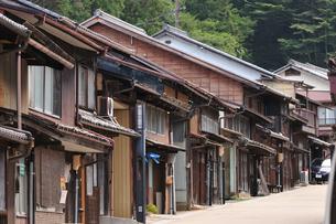 岩村町町並の写真素材 [FYI02991590]