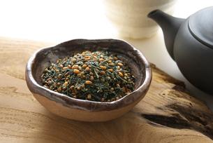 玄米茶の写真素材 [FYI02991592]