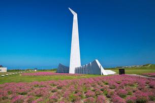 祈りの塔とアルメリアの写真素材 [FYI02991900]